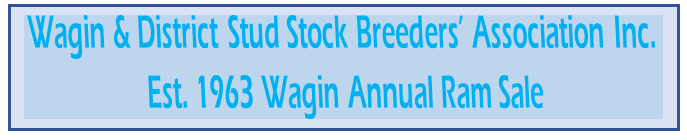 Wagin & District Stud Stock Breeders' Ass.
