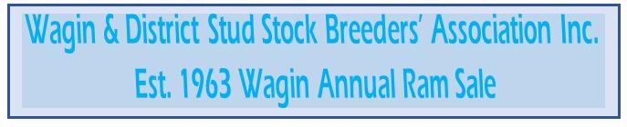 Wagin & District Stud Stock Breeders' Ass.